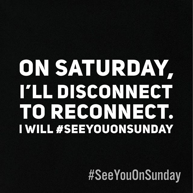 Repost on your story or feed if you're joining. We will #SeeYouOnSunday.
