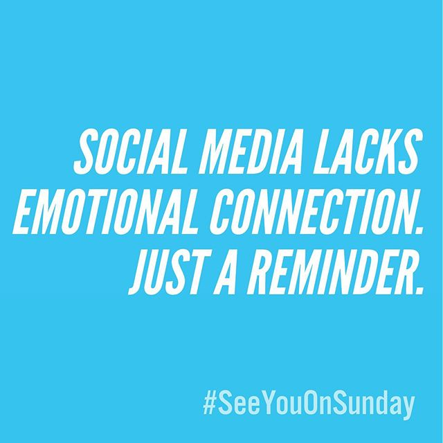 Just a friendly reminder that likes, comments, and DMs lack emotional connection. . . . . . #connection #emotion#social#media#socialmedia#doyou