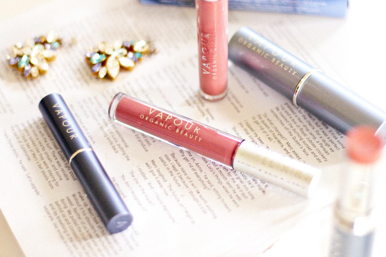 Vapour Beauty Elixir Lip Gloss, Siren Lipstick, Solar