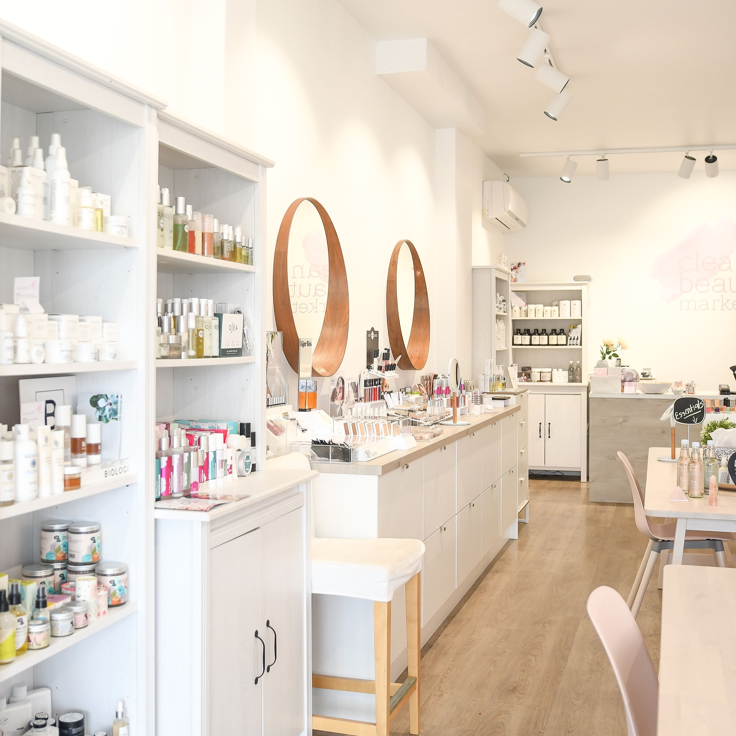 clean beauty market - 10% off your first order when you join the mailing list