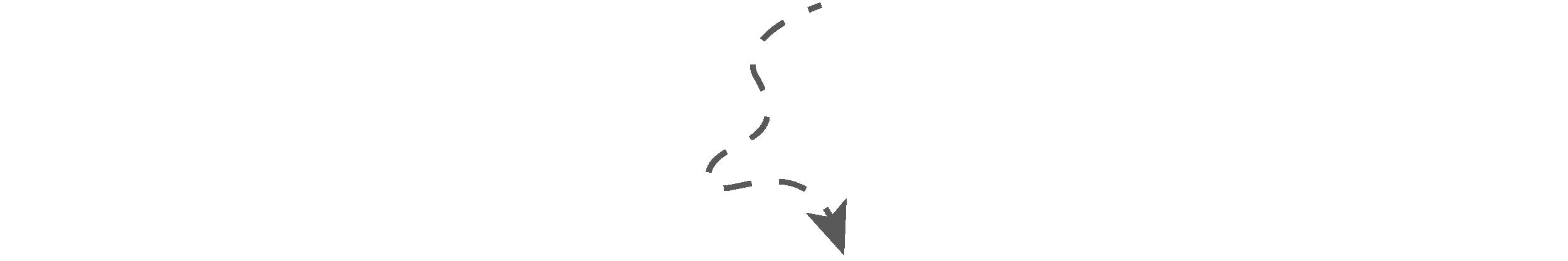 Een pijl die naar de stap hieronder wijst.