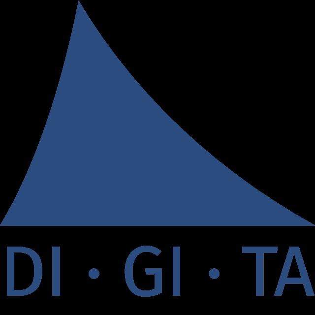 Het logo van Digita