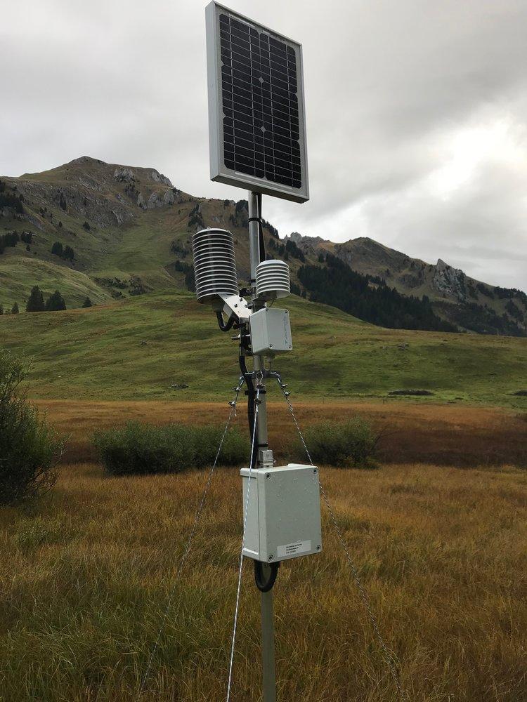 Monitoring station (source Stephan Vogt)
