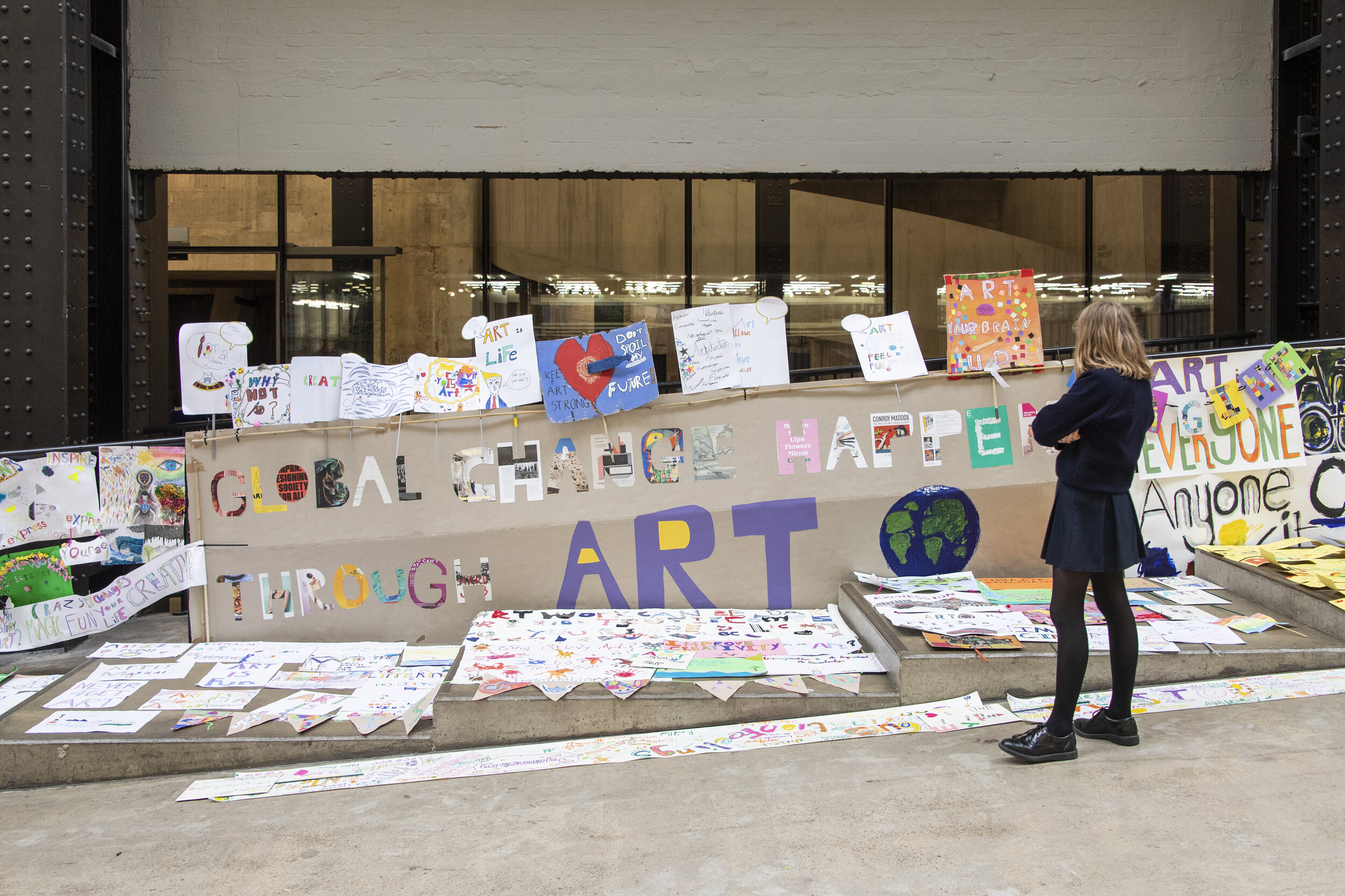 ASSEMBLY, Schools and Teachers Programme, Tate Modern 2019, photo © Tate (Joe Humphries)