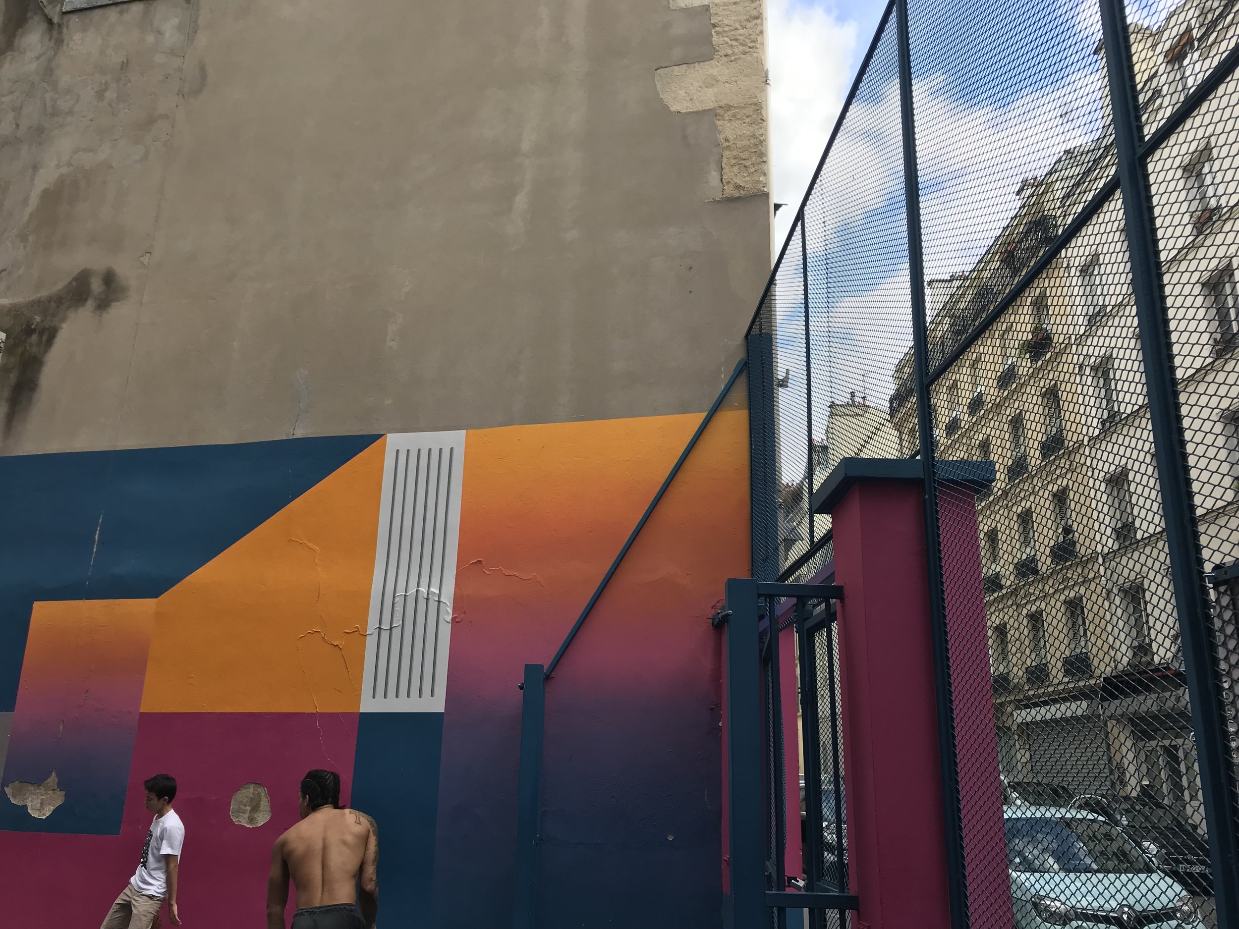 Pigalle Basketball Court, Paris 2019