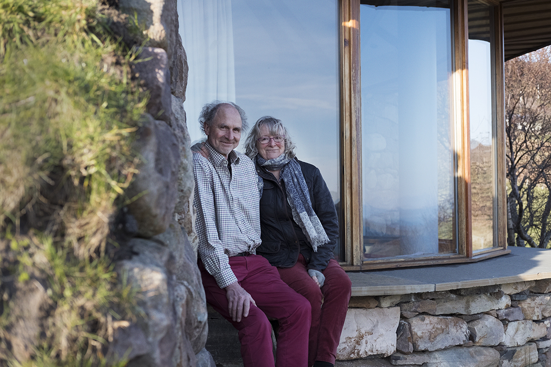 Your hosts Reiner & Sheileagh