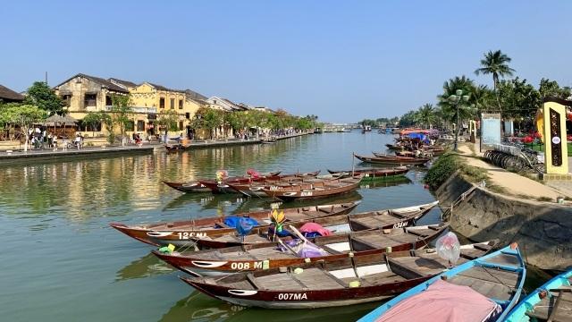 ベトナム、ホイアンの街並み