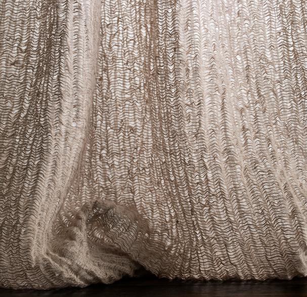 Bruine stof voor maatkussens en matraskussens