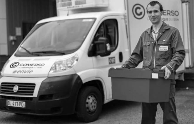 Comerso solution logistique des invendus alimentaires pour les associations