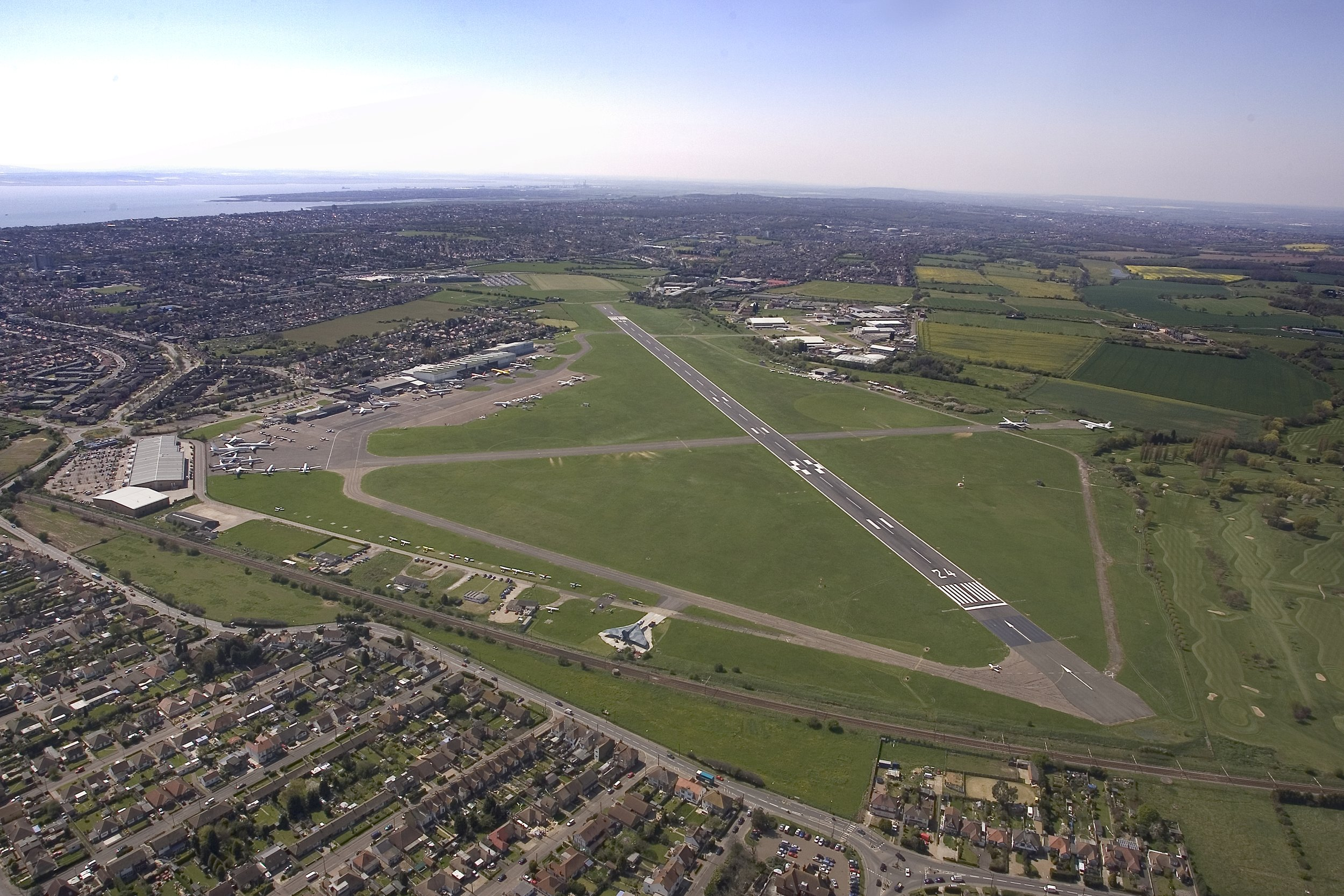 London Southend Airport 2008