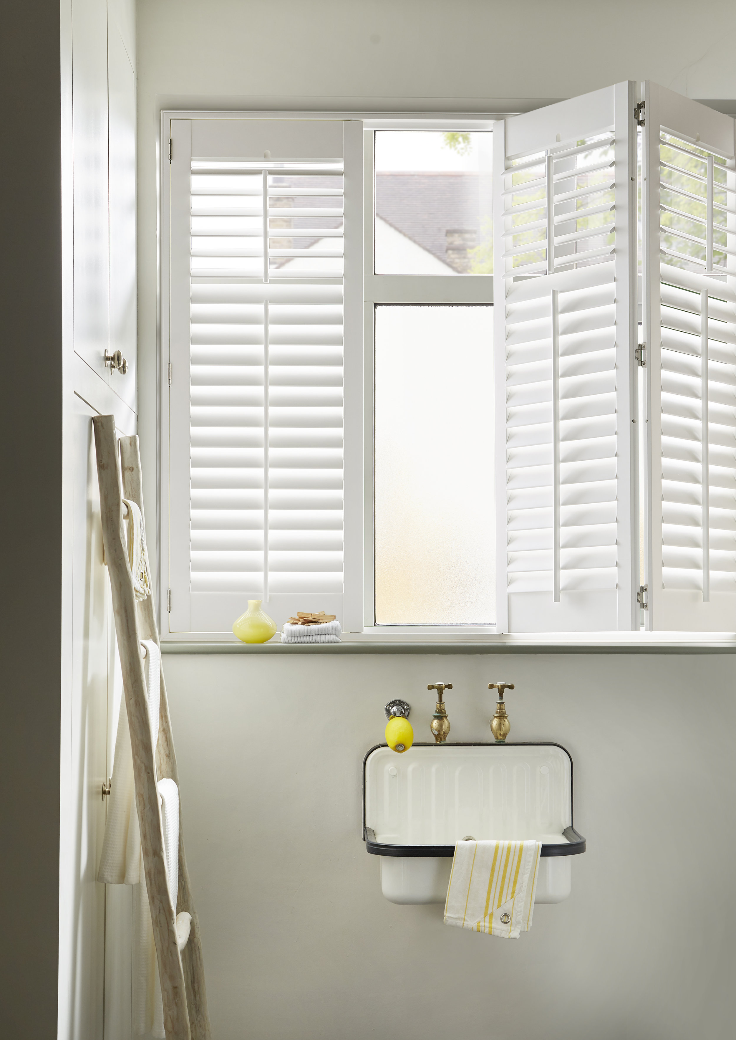 Shutters     Our handcrafted shutters make a statement in any room. Shutters add that extra bit of special to your home.