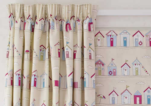 Pencil Pleat Curtains   Traditional gathering finish creates the luxurious look.