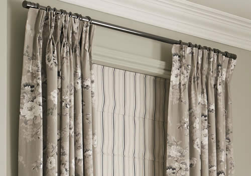 Pinch Pleat Curtains   Decorative finish that adds that special touch to the curtain.
