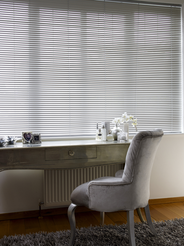 Venetian Blinds     Stunning and extremely practical, these blinds are available with a vast selection of co-ordinating slats and components.