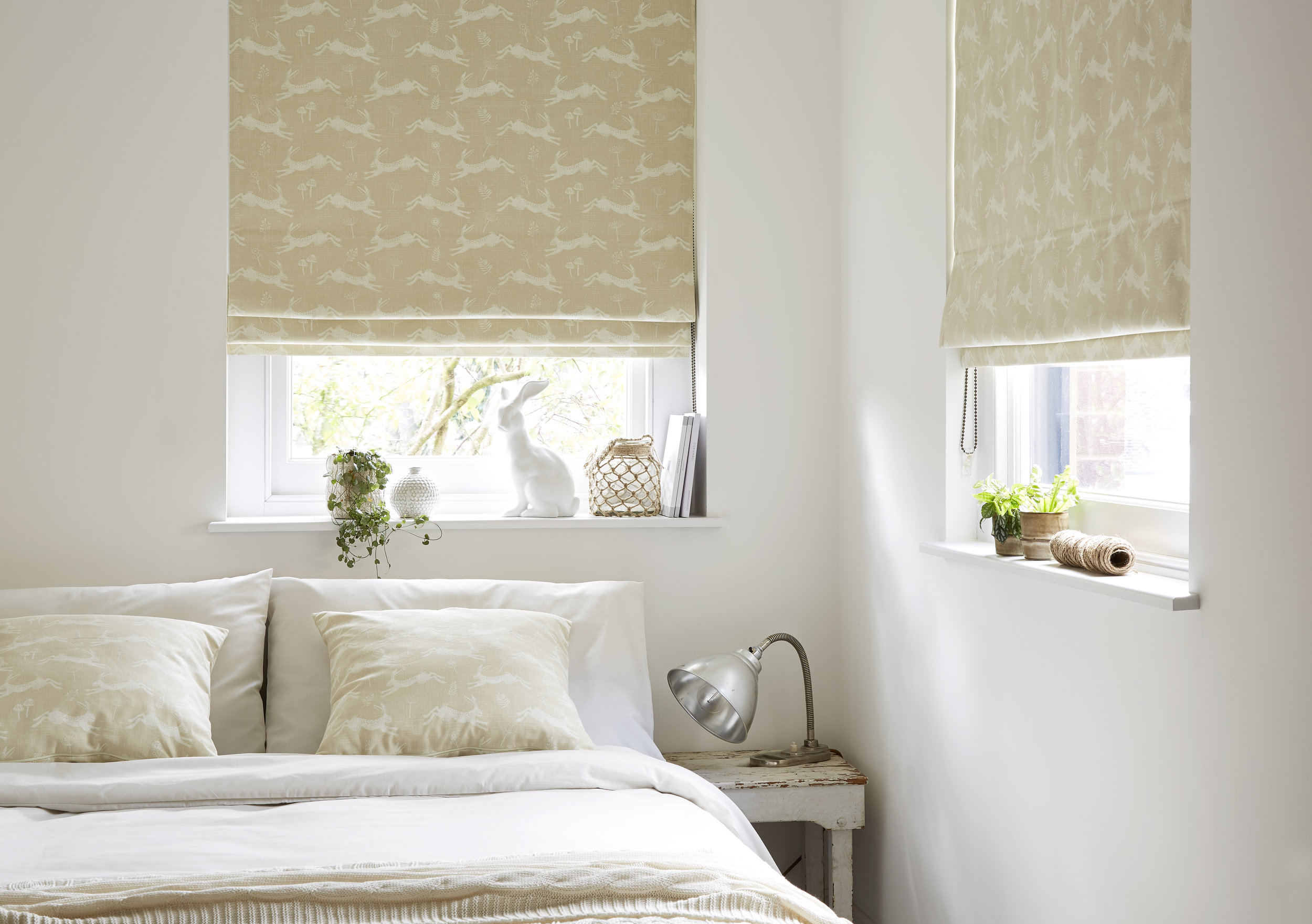 Roman Blinds     Stylish and elegant adding that extra special finishing touch to any room - particularly lounges & dining rooms.