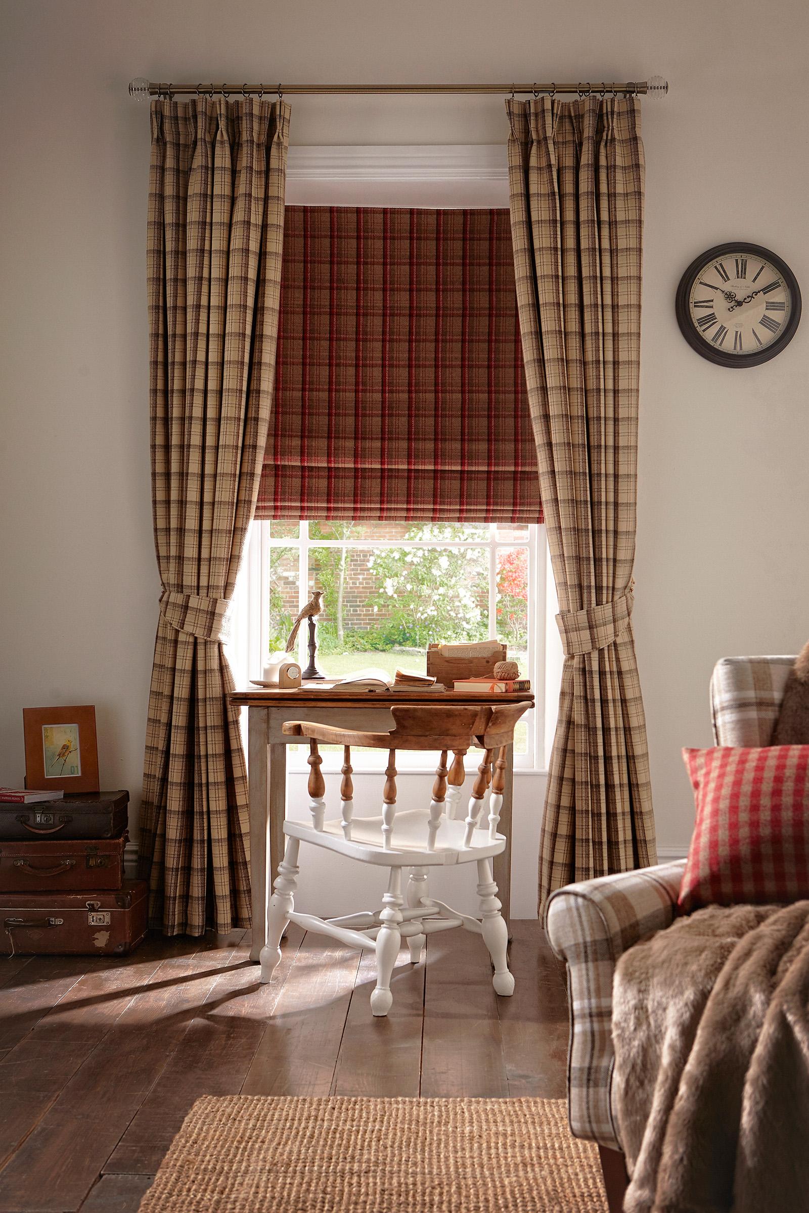 Elgin Praline Curtain_Elgin Cranberry Roman Room.jpg