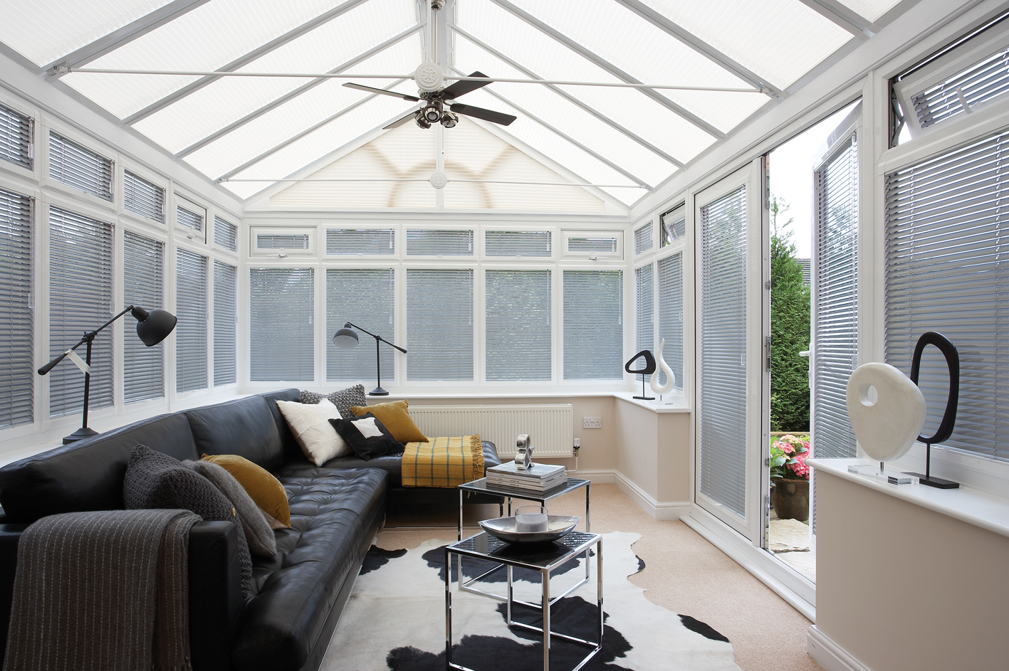 Made To Measure Conservatory Blinds In Falkirk Larber Scot Blinds