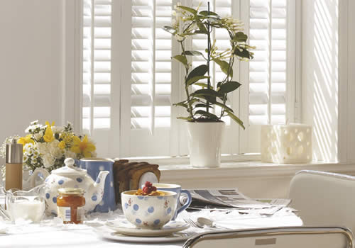 Cafe Style/Solid Shutters