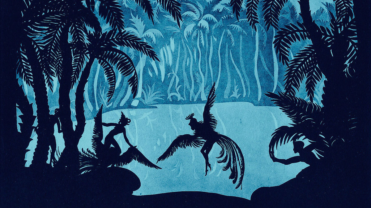 The Adventures of Prince Achmed, Lotte Reiniger, 1926