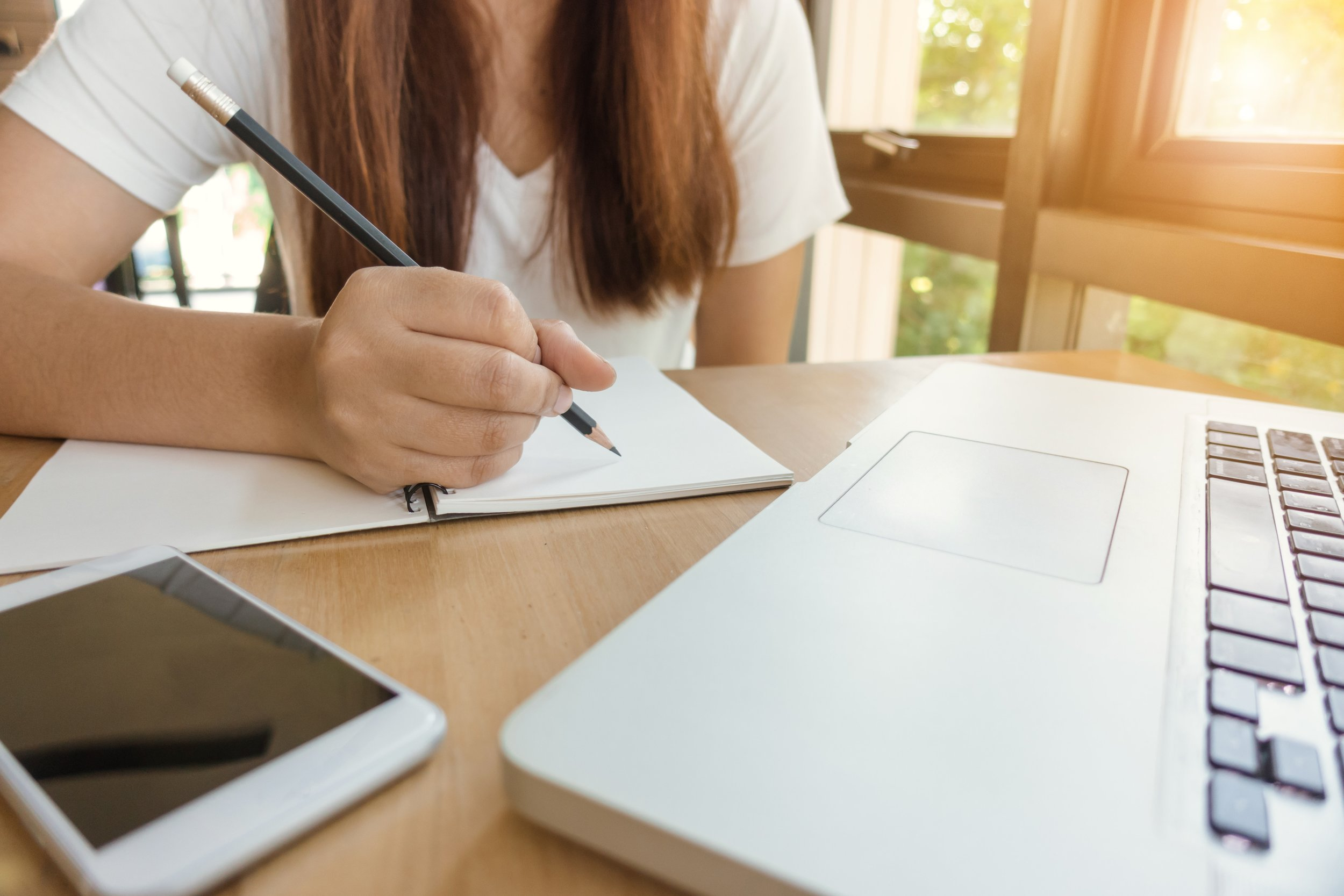Why writing? - Essays at school, university research papers, job applications…We all need to write clearly and effectively to achieve our goals. Further, writing develops critical thinking skills and creativity!Learn More