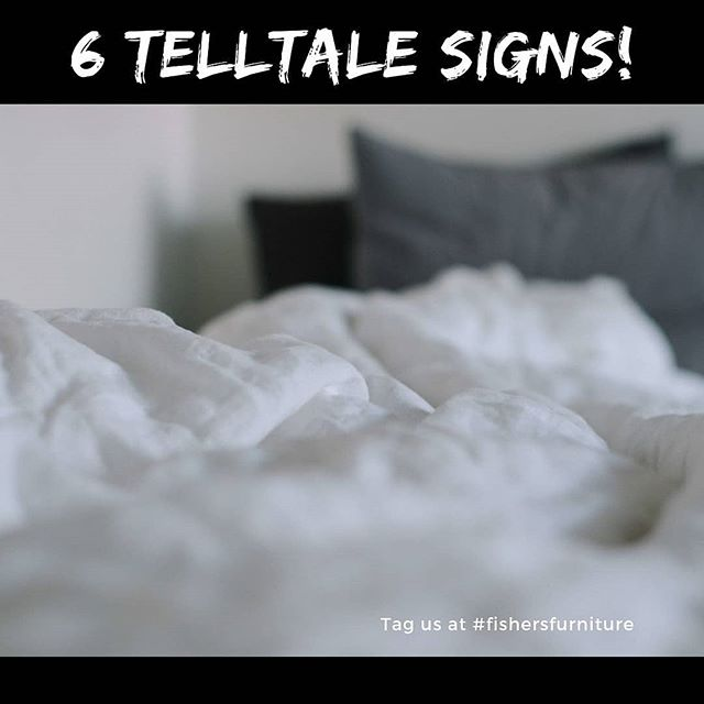 Here is 6 Telltale Signs To Replace Your Mattress.. bit.ly/2V3mLHQ