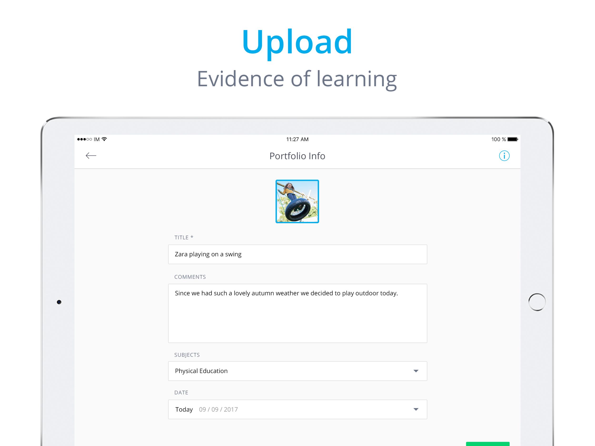 InfoMentor Media App - iPad Screenshots 2.png