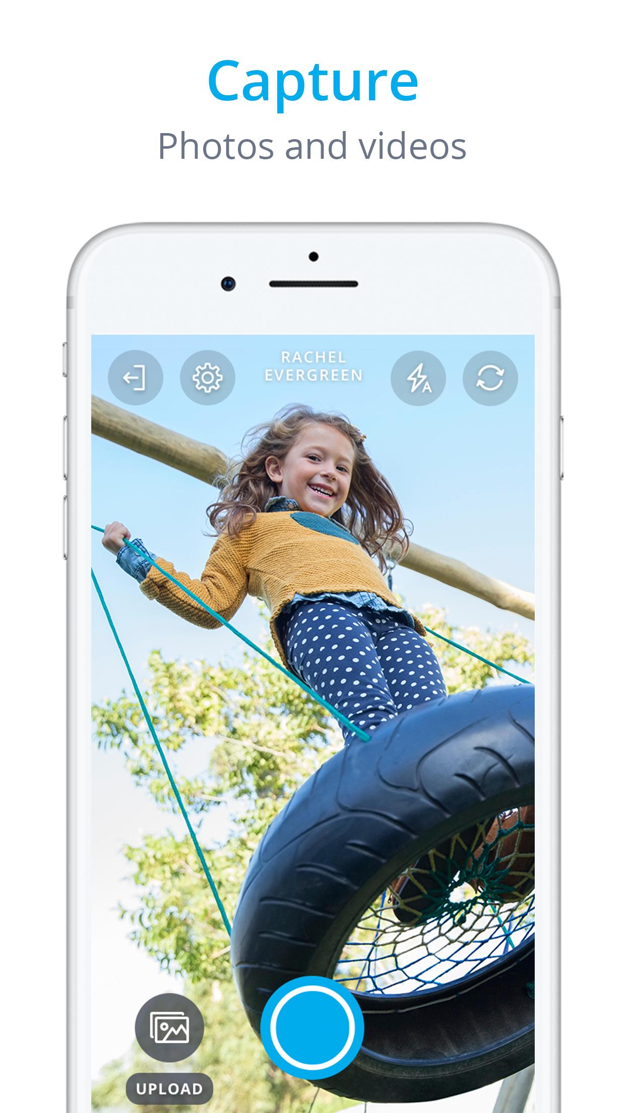 InfoMentor Media App - iPhone Screenshot 1.png