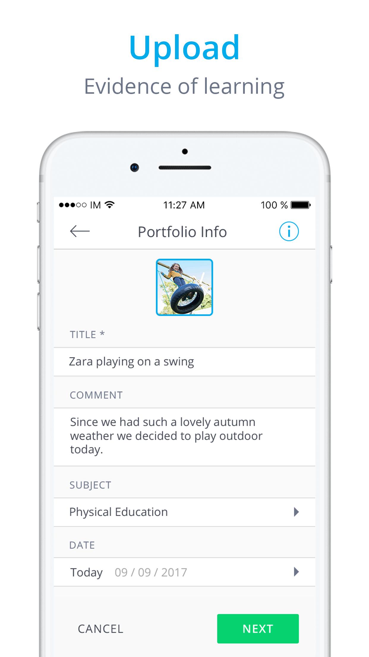 InfoMentor Media App - iPhone Screenshot 2B.png