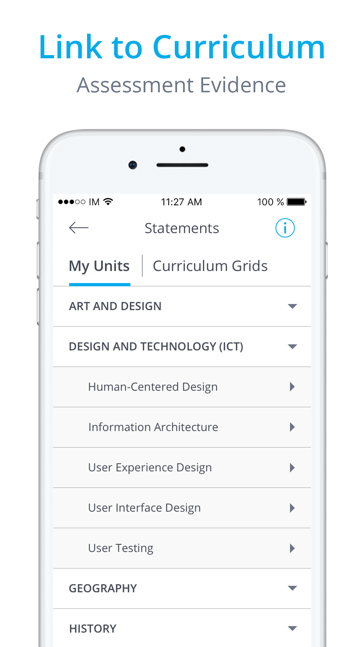 InfoMentor Media App - iPhone Screenshot 4.png