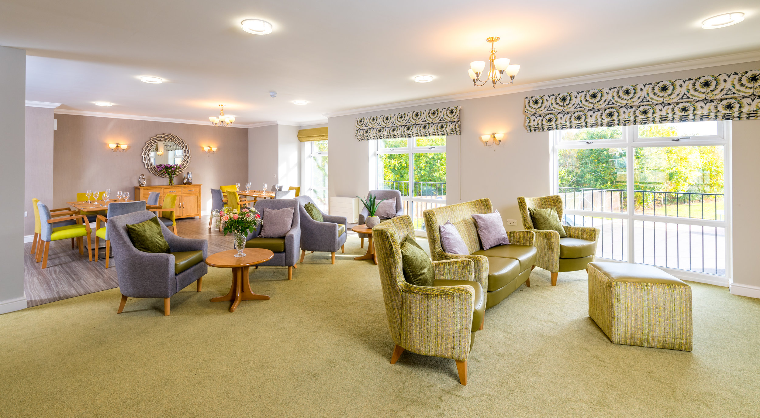 Interior of Care Home lounge area