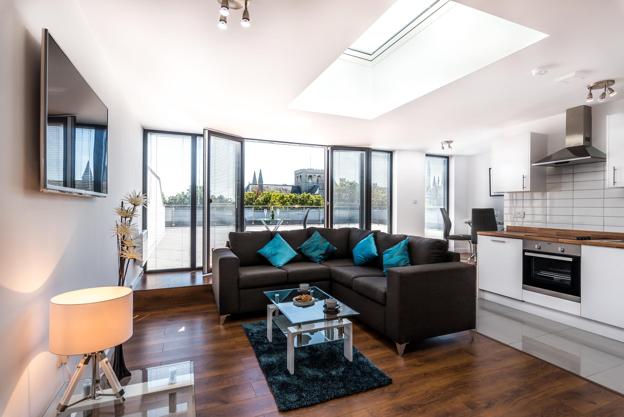 Penthouse apartment in Peterborough
