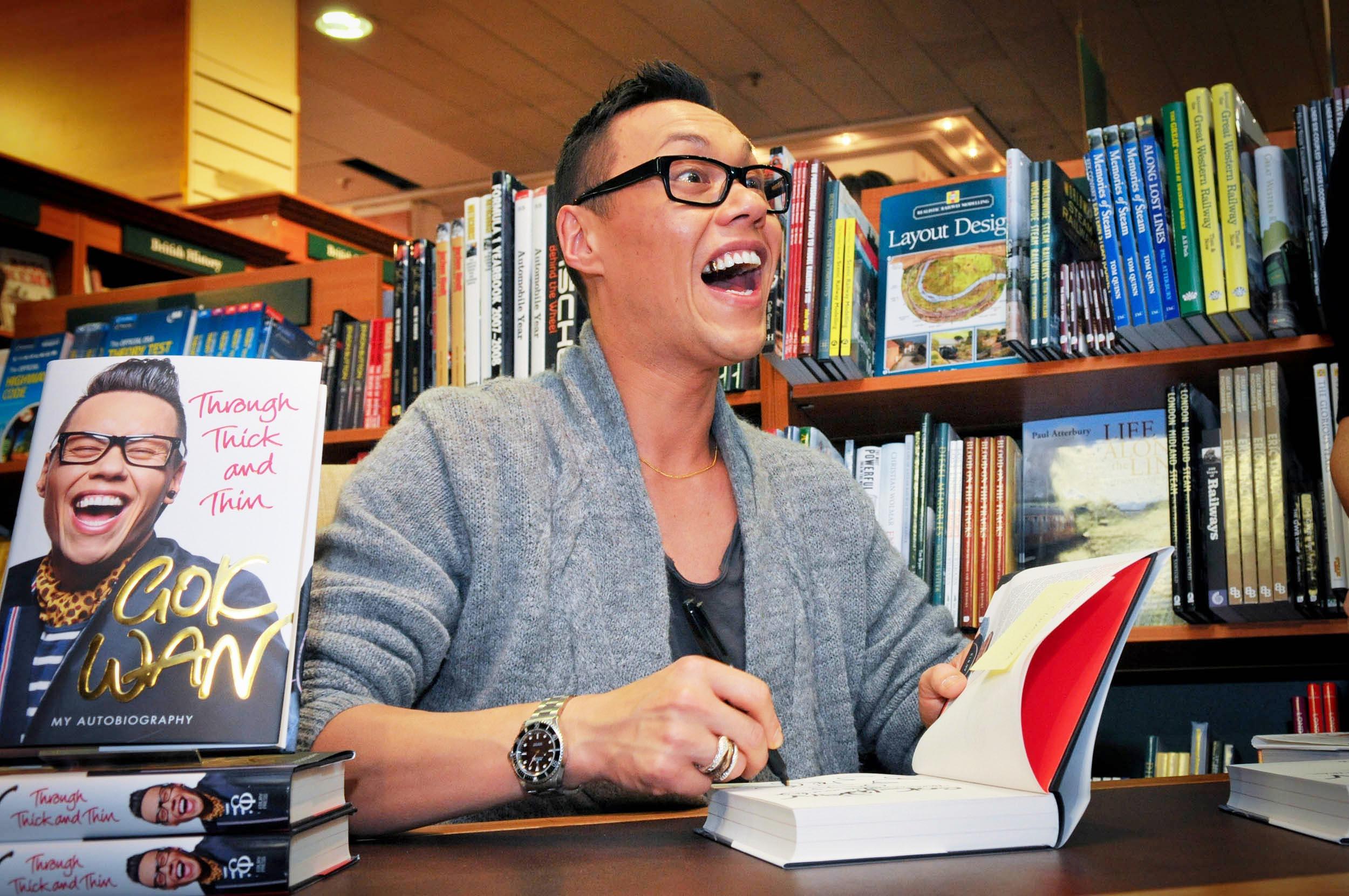 Gok Wan book signing
