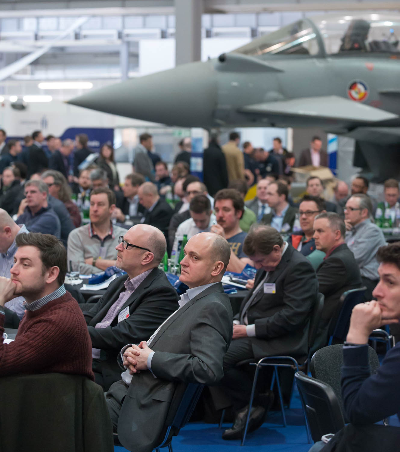 Conference audience at Duxford IWM