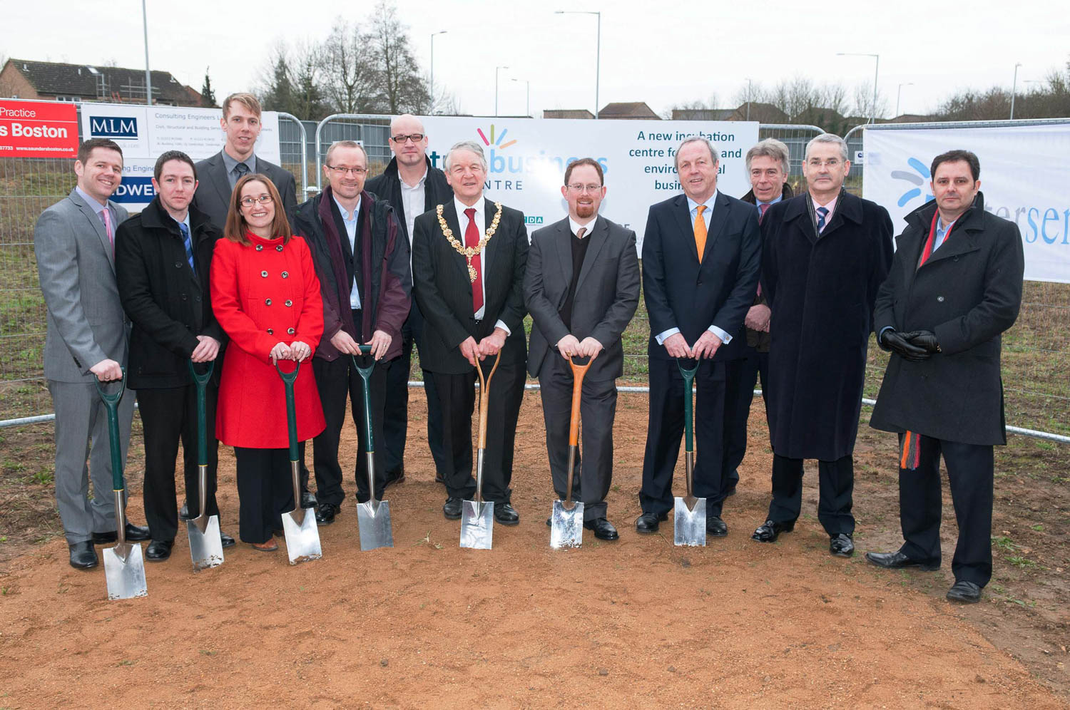 Future Business Centre Turf Cutting Event, Cambridge