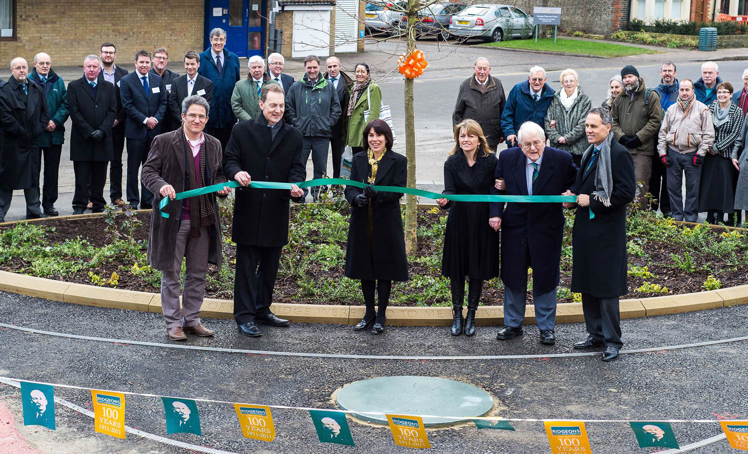 Ridgeons Pocket Park opening in Cambridge
