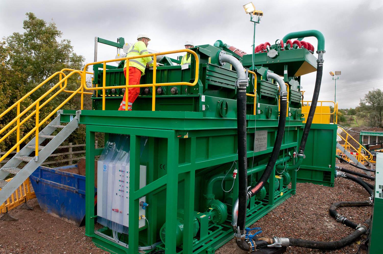 Large pumping machinery