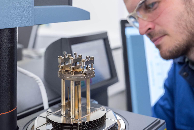 High spec testing equipment