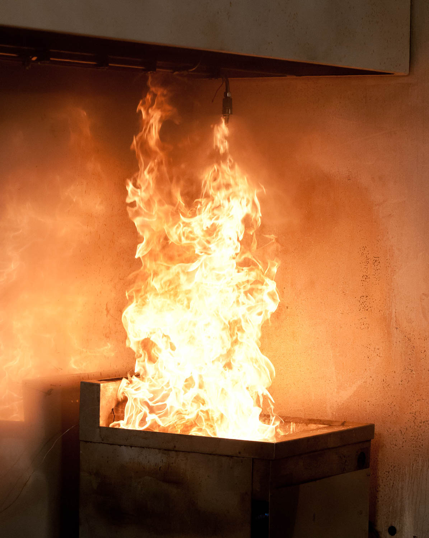 Fire testing sprinkler systems