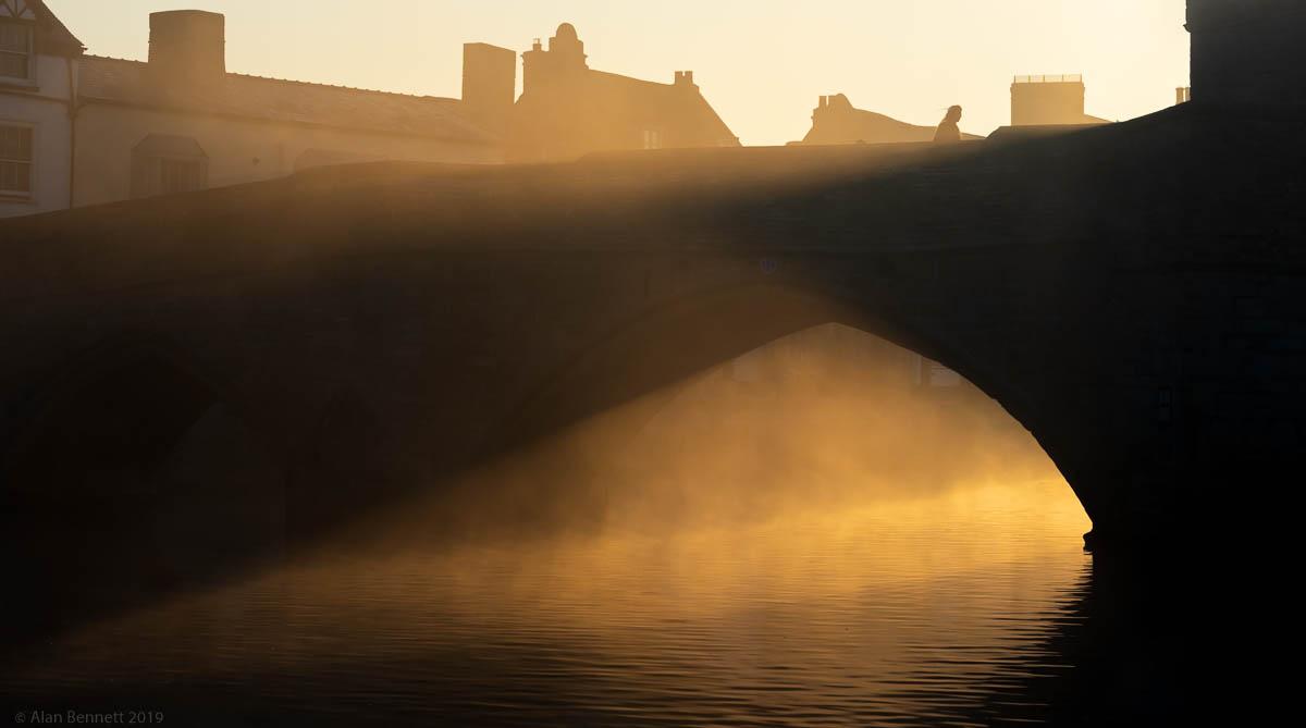 February sunrise, St Ives, Cambridgeshire