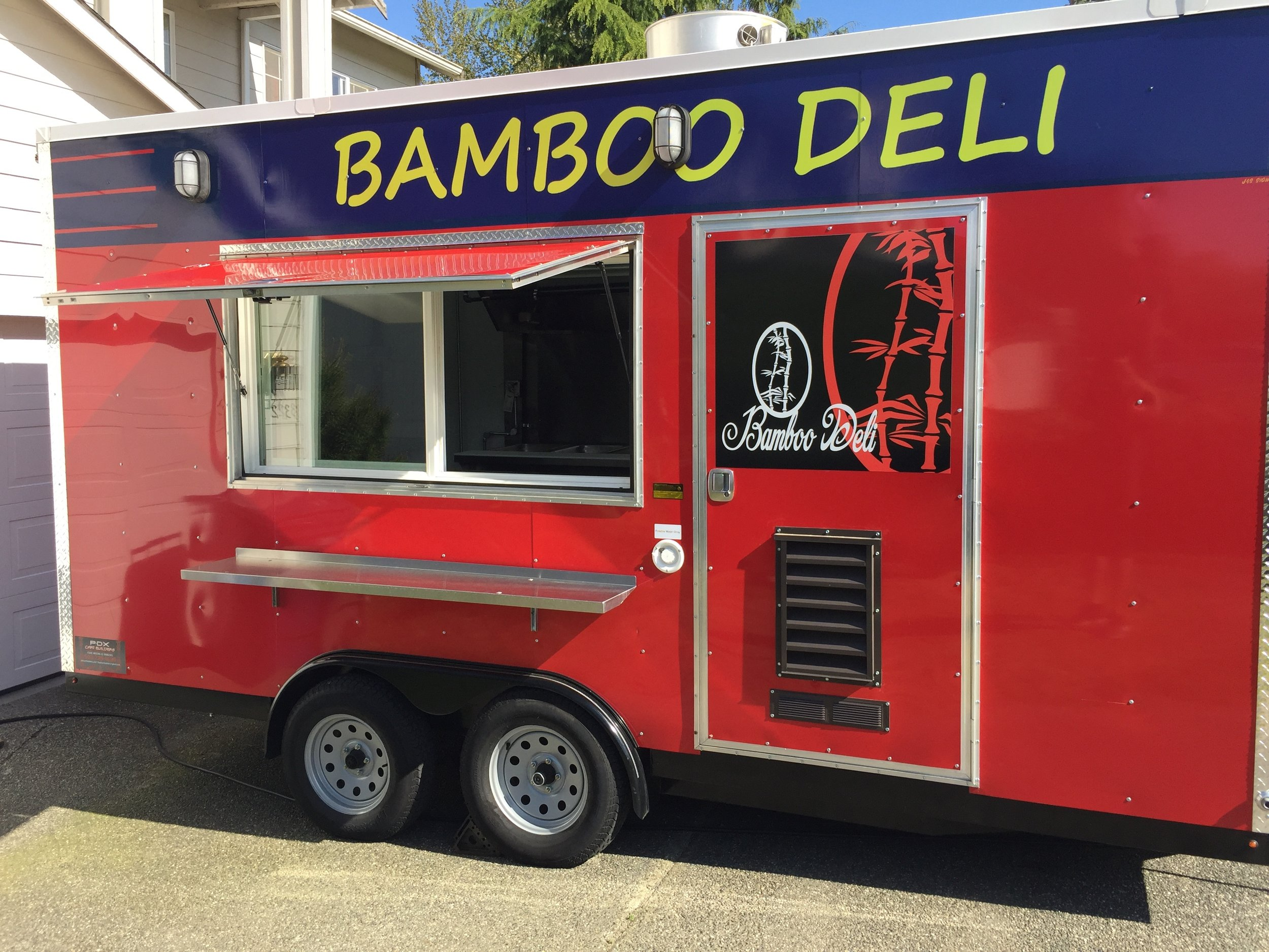 Bamboo Deli - AsianWebsite: bamboodeli.comPhone: 206-300-1757Email: bamboodeli1@gmail.comAvailable for cateringAlso serves in Everett, Marysville & Tulalip