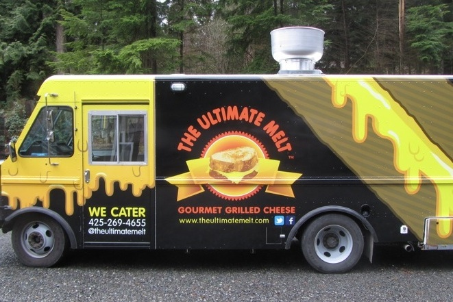 The Ultimate Melt - Gourmet Grilled CheeseFind on FacebookTwitter: @theultimatemeltWebsite: www.theultimatemelt.comPhone: 425-269-4655Email: theultimatemelt@live.comAvailable for cateringAlso serves in: Redmond, Bothell & Kirkland