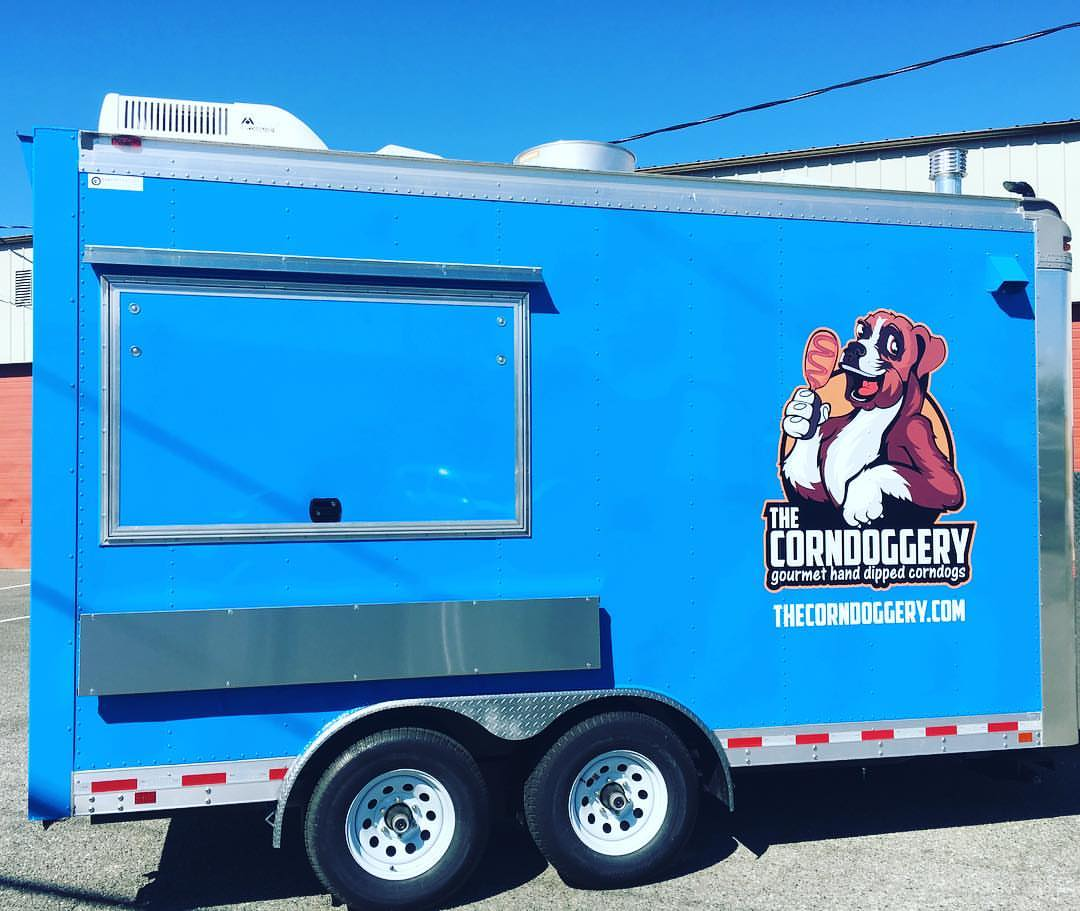 The Corndoggery - Gourmet corndogsFind on FacebookTwitter Account: @corndoggeryPhone: 253-376-3971Email: thecorndoggery@gmail.comAlso serves in: Renton, Bellevue & Tacoma