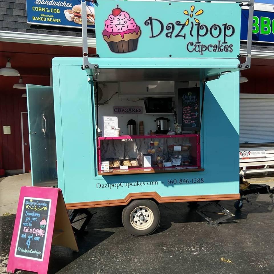 Dazipop Cupcakes   - Gourmet baked goods & dessertsFind on FacebookTwitter: @DazipopCupcakesWebsite: www.DazipopCupcakes.comPhone: 360-362-9280Business Email: dazipop@gmail.comAvailable for cateringAlso serves in Bellingham, Ferndale & Everett