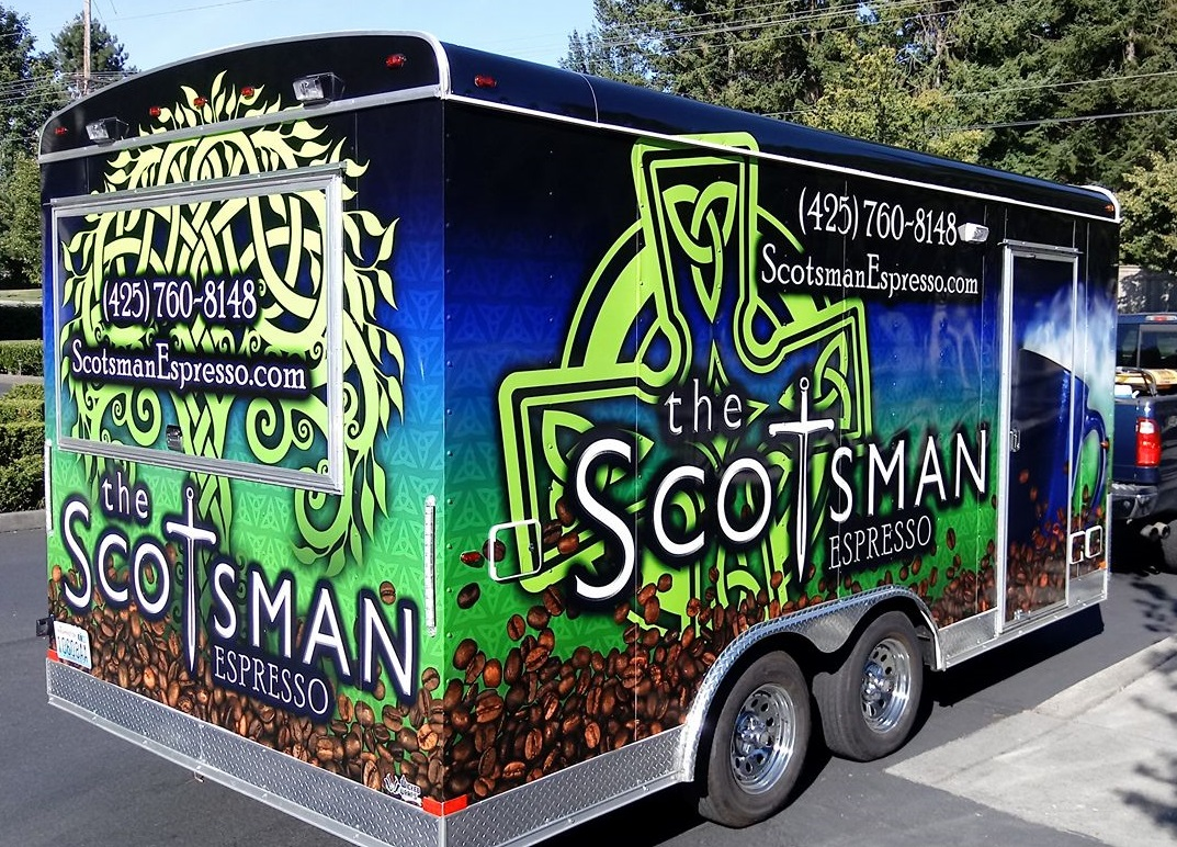 The Scotsman Espresso - Espresso Drinks, Fruit SmoothiesFind on FacebookPhone: 425-760-8148E: info@scotsmanespresso.comAlso serves in: Everett, Edmonds & Snohomish