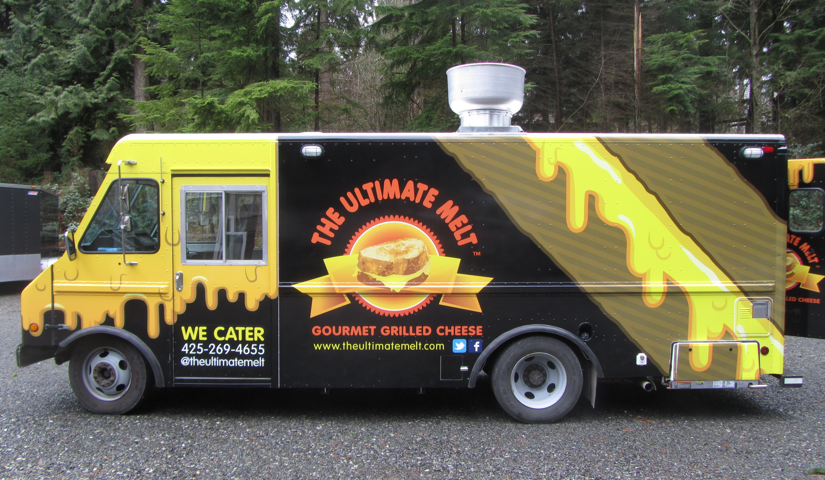 The Ultimate Melt - Gourmet Grilled CheeseFind on FacebookTwitter: @theultimatemeltWebsite: www.theultimatemelt.comPhone: 425-269-4655Email: theultimatemelt@live.comAvailable for cateringAlso serves in: Bellevue, Bothell & Kirkland