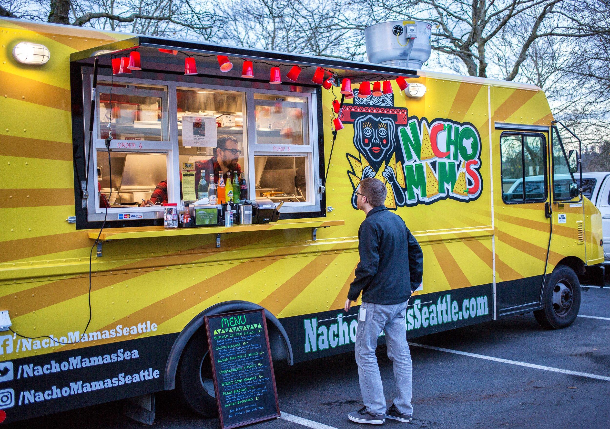 Nacho Mama's   - Nacho FusionFind on FacebookTwitter @NachoMamasSeaPhone: 206-579-1810E: nachomamasseattle@gmail.comAlso serves in: Seattle, Redmond & Bellevue