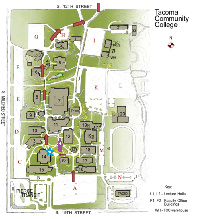 tacoma community college campus map Washington State Food Truck Association tacoma community college campus map
