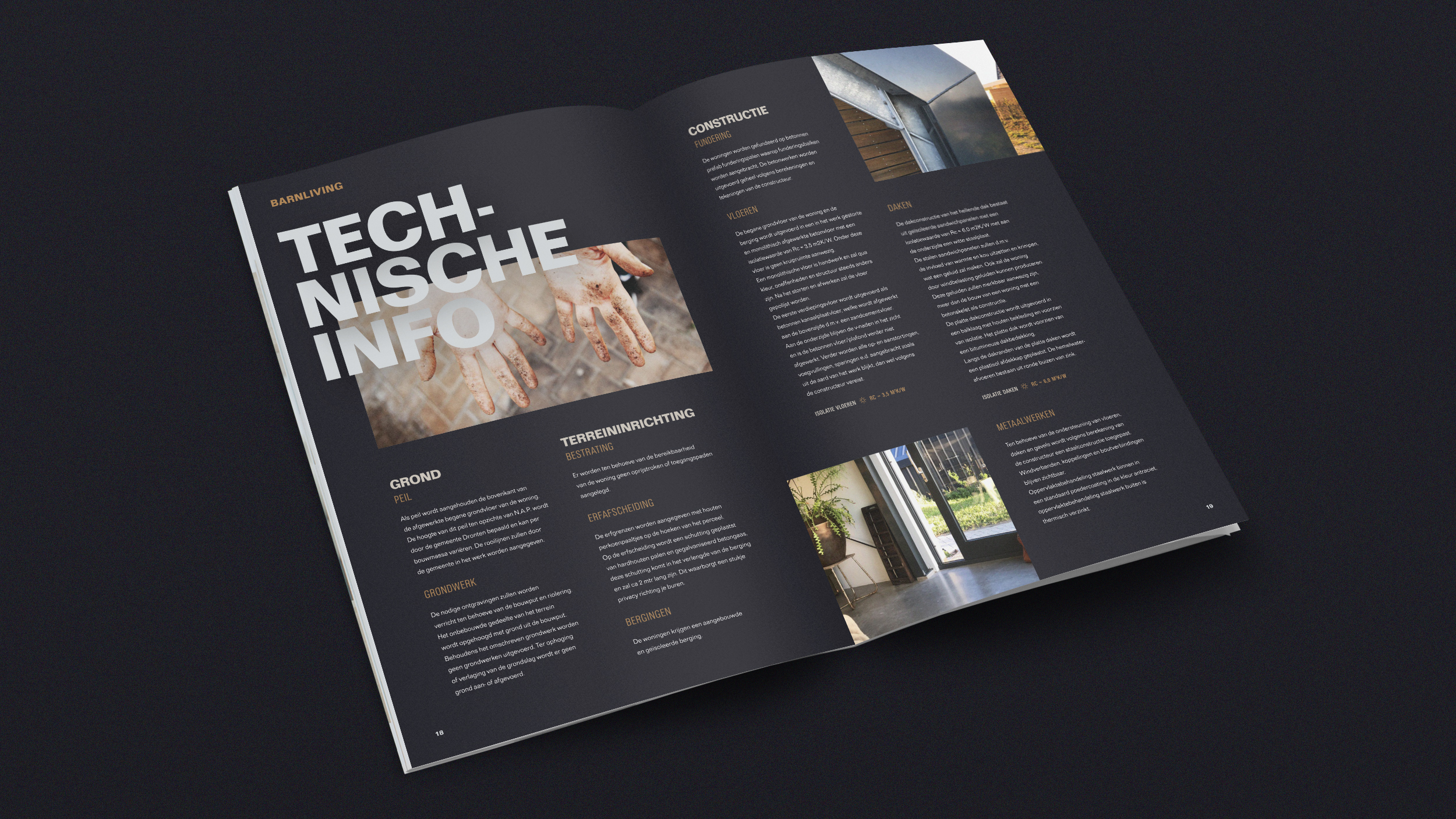 Brochure impressie