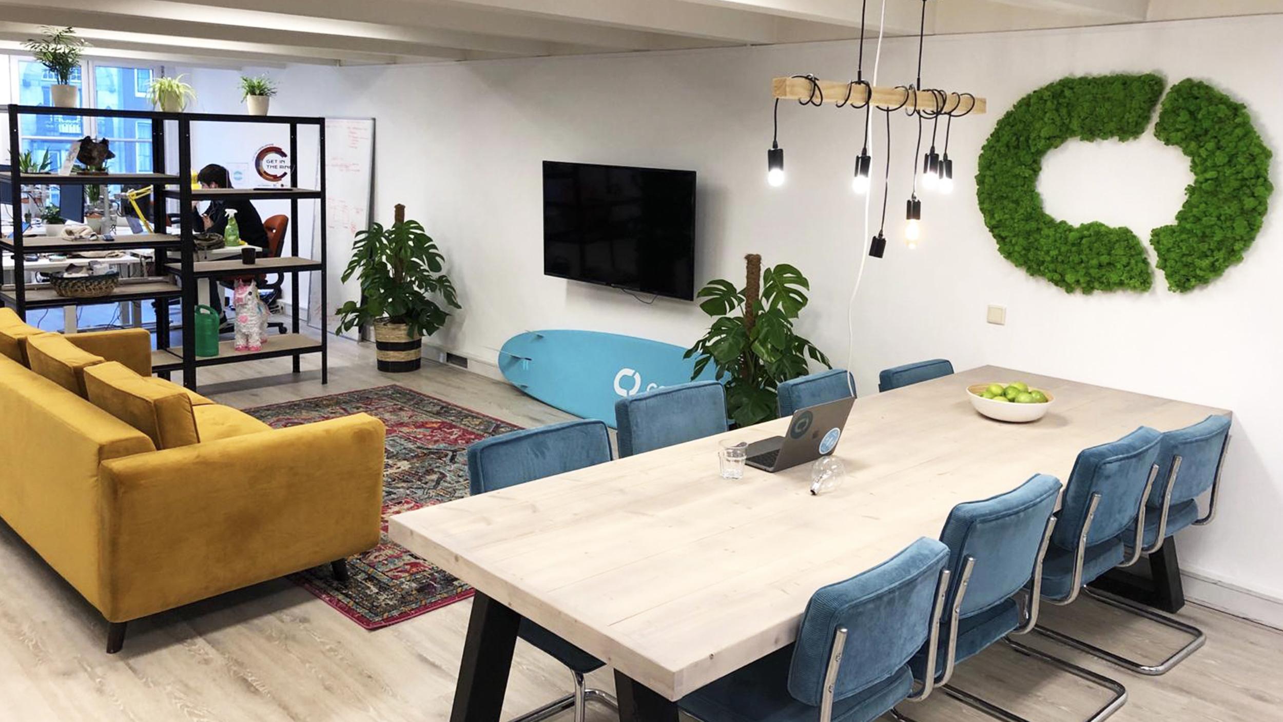 Het nieuwe kantoor op het Rokin in Amsterdam