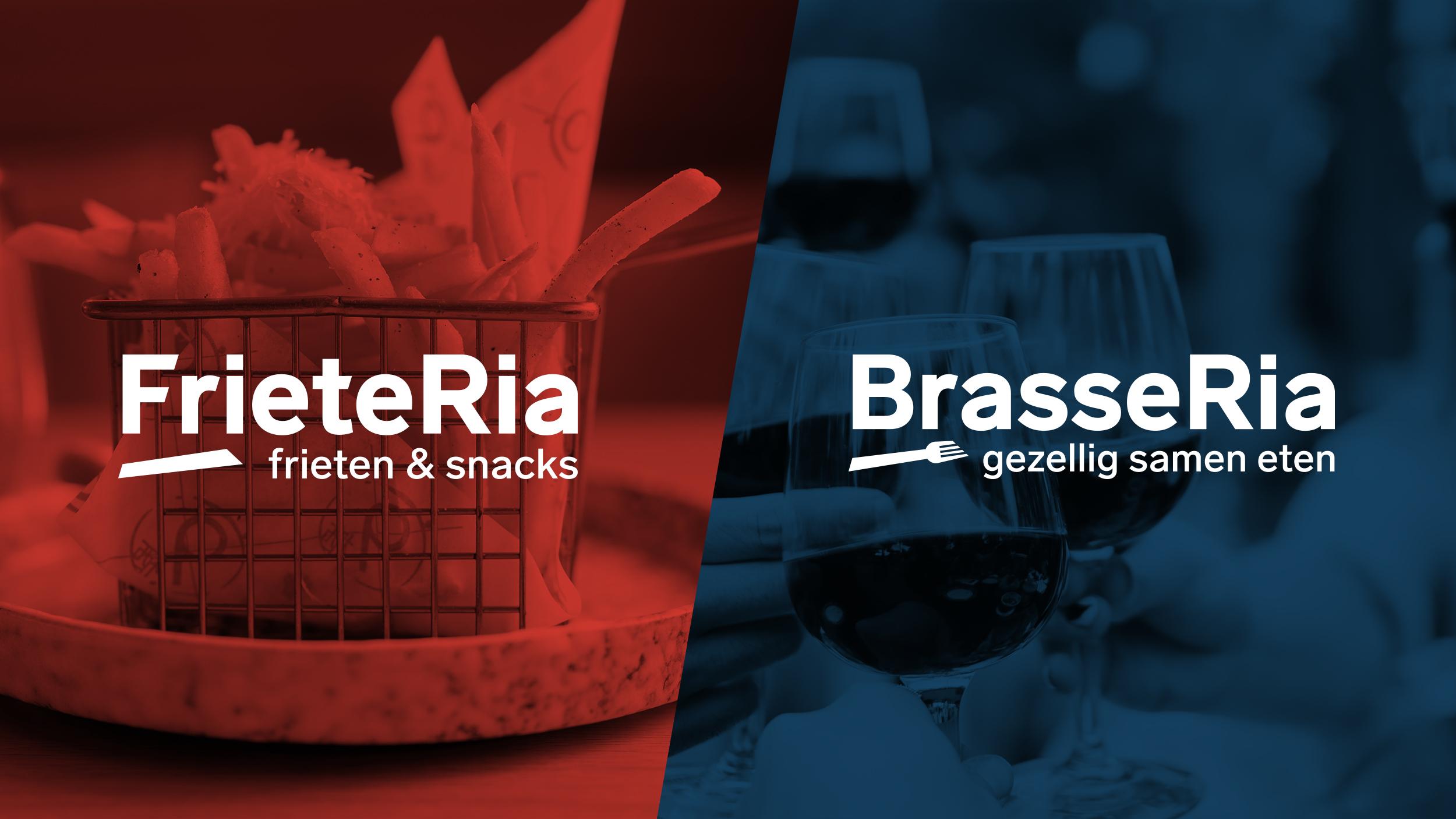 Logo FrieteRia(l) & BrasseRia (r)